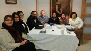 Alicante community with Rabbi Salas